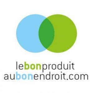 Le Bon Porduit Au Bon Endroit Logo