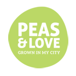 Peas and Love Logo