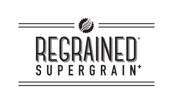Logo Regrained Supergrain