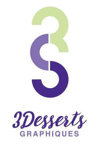 Logo 3Desserts Graphiques